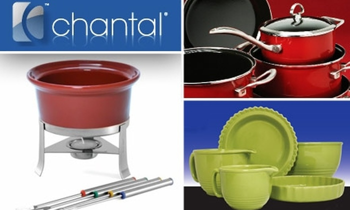 Chantal - Meadows Of Northwest Park: $20 for $40 Worth of Chantal Cookware and Products at 2010 Warehouse Sale