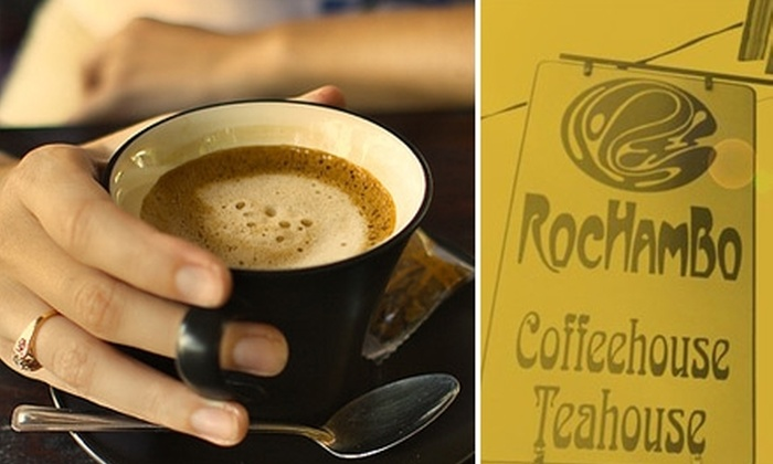 Rochambo - Lower East Side: $10 for $20 Worth of Coffee and Tea at Rochambo Coffee & Tea House