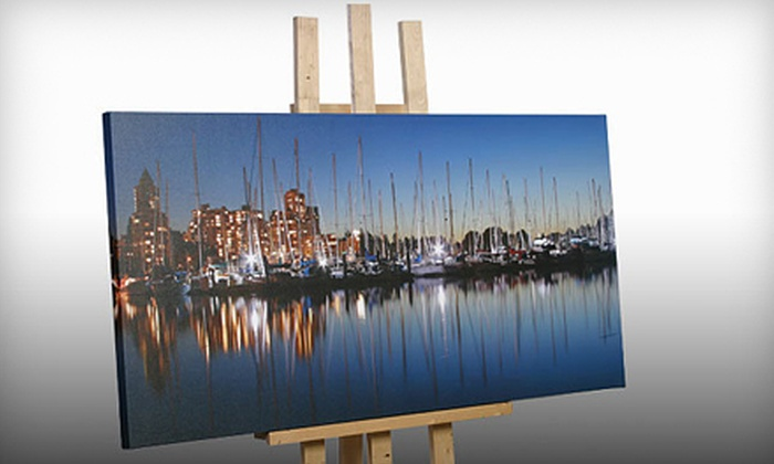 VancouverOnCanvas.com: Custom Canvas Prints and Framing from Vancouver On Canvas (Up to 56% Off)