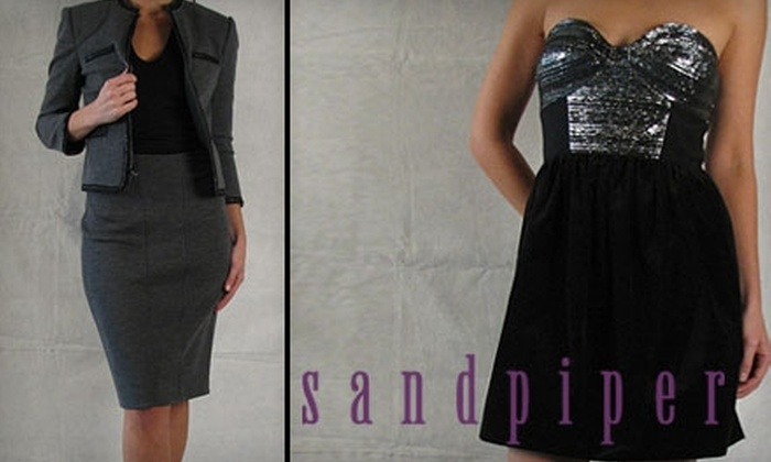 Sandpiper - Vinings: $25 for $50 Worth of Women's Fashions at Sandpiper