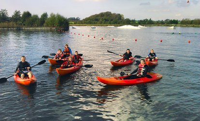 One-Hour Kayaking or Paddleboarding Session at Blackpool Wake Park (Up to 65% Off)