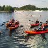 Kayaking or Paddleboarding