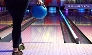 M&D's Theme Park: Bowling Game and Draught Soft Drink for Four or Six at M&D's Theme Park (Up to 49% Off)