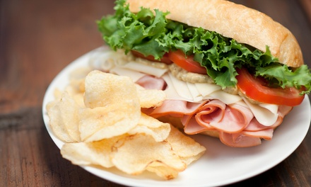 Sub or Salad Meal for 2 or 4, or Super Combo Platter for 16 at Galuppi's On The Go (Up to 52% Off)