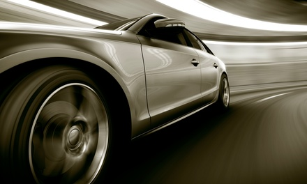 Automotive Window Tinting at Soundmaster Tint & Alarm, Inc. (Up to 51% Off). Five Options Available.