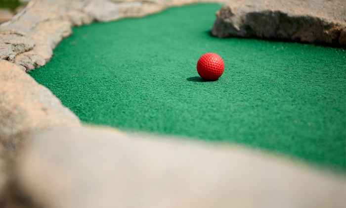 Malt-Tees Mini Golf - Richfield: Mini Golf with Malt Shop Credit for Four or Six at Malt-Tees Mini Golf (Up to 49% Off)