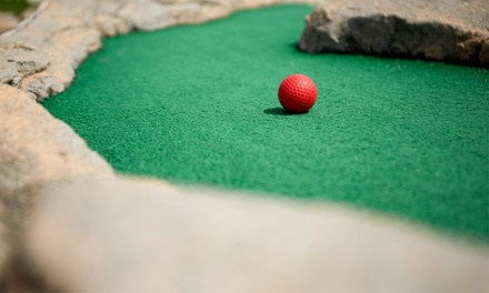 Mini Golf for Two, Four, or Six with Hot Dogs and Ice Cream or Slushies at Putts and More (Up to 44% Off)