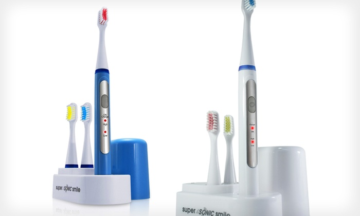 Sonic Teeth Cleaning System Groupon Goods