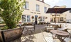Somerset: Classic Double Room with Breakfast & Glass of Wine