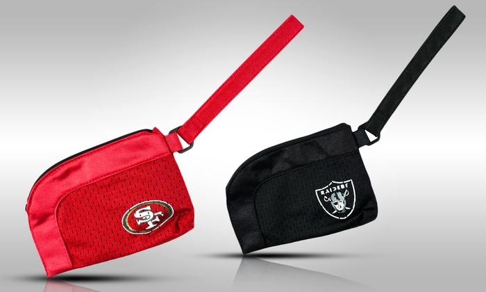 NFL Stadium-Approved Team Wristlet: NFL Stadium-Approved Team Wristlet
