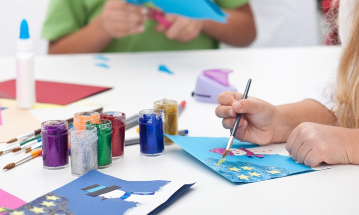Craftivity - Briarcliff Manor: 45-Minute Story and Craft Creation Class for 5 or 10 Kids or Classroom Workshop from Craftivity (Up to 61% Off)