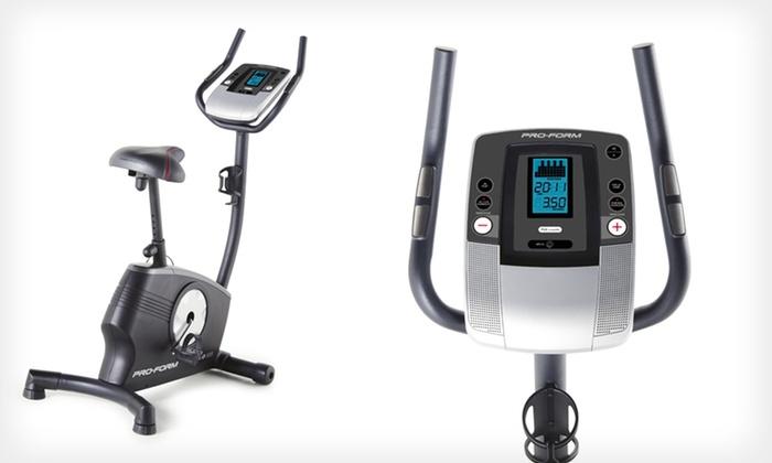 ProForm Upright Exercise Bike: $219 for a ProForm 2.0 ES Upright Exercise Bike ($399.99 List Price). Free Shipping.