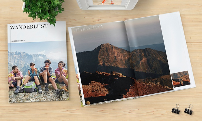 Photobook Emirates: Photo Collage Personalised Imagewrap Hardcover 40-Page Photobook from AED 29 (Up to 84% Off)