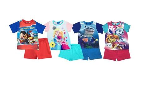 Kids' Disney Character Short Pyjama Set