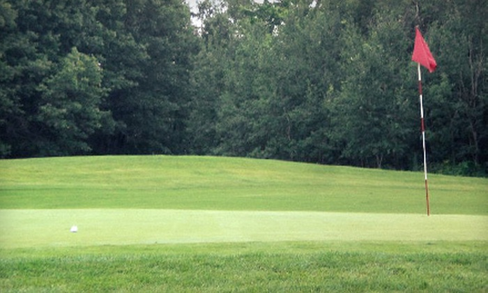 The Ponds Golf Course and Restaurant - Nowthen: $35 for 18-Hole Round of Golf for Two with Cart Rental at The Ponds Golf Course and Restaurant (Up to $102 Value)