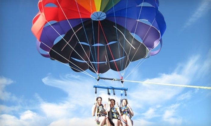 Hawaiian Parasail - Ala Moana - Kakaako: $50 for a Tandem Parasail Ride from Hawaiian Parasail ($100 Value)