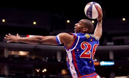 Immersive Basketball Experience at the Izod Center in East Rutherford, New Jersey, on February 17 - Game at 7PM  - Harlem Globetrotters VIP Experience in