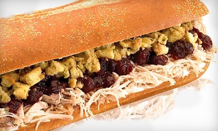 Capriotti's Sandwich Shop - Juneau Town: $8 for $16 Worth of Classic Subs at Capriotti's Sandwich Shop