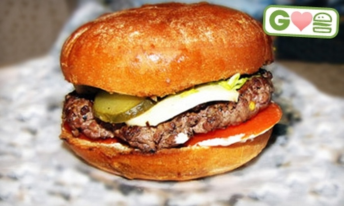 Wooden Nickel Sports Bar & Grill - Downtown Appleton: $7 for $15 Worth of Burgers, Drinks, and More at Wooden Nickel Sports Bar & Grill