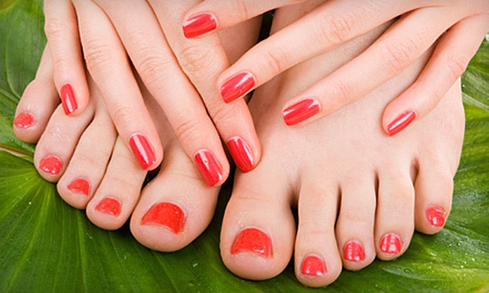 SpaRenity Day Spa - Mansfield: Classic or Shellac Nail Services at SpaRenity Day Spa in Mansfield (Up to 59% Off). Three Options Available.