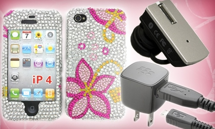 Wireless Express - Multiple Locations: $10 for $25 Worth of Cell-Phone Accessories at Wireless Express
