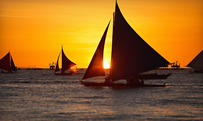 Vayu Sailing - Downtown: $99 for a Three-Hour Sunset Cruise with Champagne for Up to Six from Vayu Sailing ($200 Value)