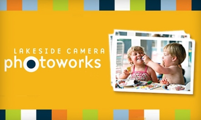 Lakeside Camera Photoworks - Multiple Locations: $20 for $50 Worth of Photofinishing Lab Services at Lakeside Camera Photoworks