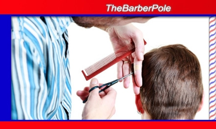 The Barber Pole - Greenbrier East: $19 Men's Haircut and Shave at The Barber Pole ($41 Value)