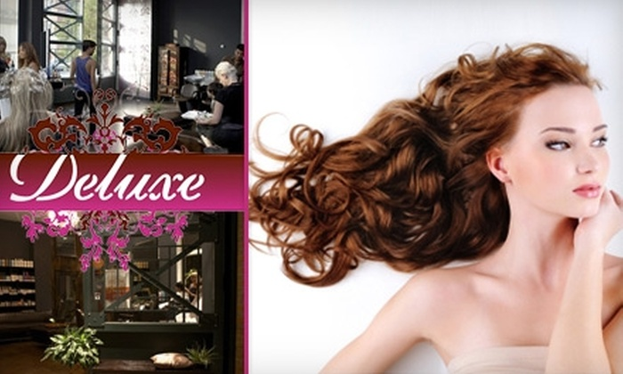 Deluxe Salon - Greenpoint: $65 for a Haircut, Blowout, and Gloss at Deluxe Salon in Brooklyn