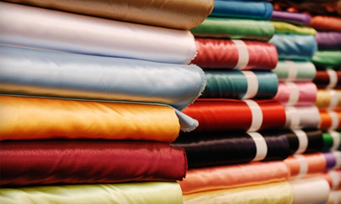 Marshall Fabrics - Rosedale Industrial: $25 for $50 Worth of Fabrics and Sewing Accessories at Marshall Fabrics