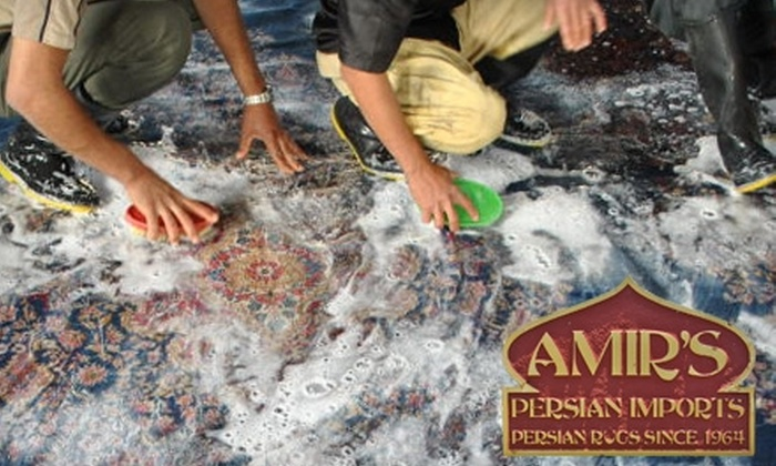 Amir's Persian Imports - Yorktown: $99 for $250 Toward Imported Rugs or Rug Cleaning at Amir's Persian Imports