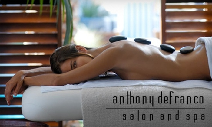 Anthony DeFranco Salon and Spa - Huntington Station: $45 for Your Choice of One of Four Spa Services (Up to $125 Value) at Anthony DeFranco Salon and Spa