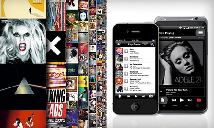 MOG Music: $15 for Three-Month Online All-Access Streaming & Downloading Subscription to MOG Music (Up to $29.97 Value)