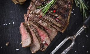 Standard Market: 3, 6, or 12 Boneless 16-oz. USDA Top Choice New York Strip Steaks at Standard Market (Up to 32% Off)