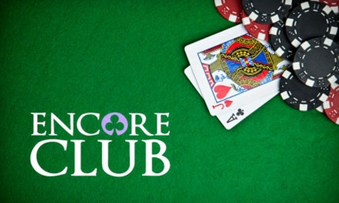 Encore Club - Northwest District: $20 for Admission for Four Plus a $20 Drink Credit at Encore Club ($60 Value)