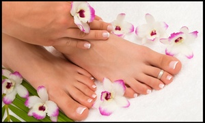 Ultimate Hair Nails & Spa: Up to 51% Off No chip manicure and pedicure at Ultimate Hair Nails & Spa