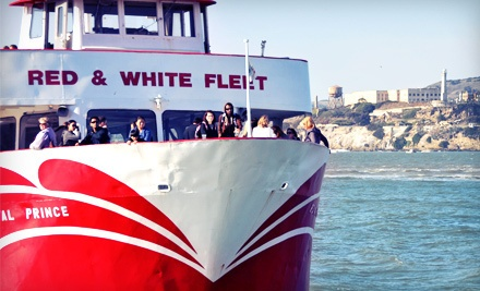 Two-Hour California Twilight Cruise or Sunset Cruise for One - Red and White Fleet in San Francisco
