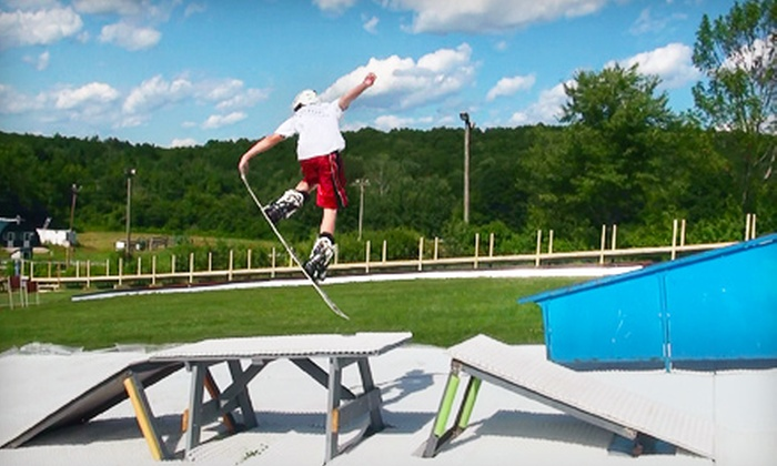 Ski Ward - Shrewsbury: $18 for a Day for Two at the Ski and Snowboard Terrain Park, Plus $8 Worth of Snacks at Ski Ward in Shrewsbury ($38 Value)