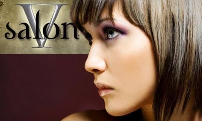 Five Salon - Morton Meadows: $25 for $55 Worth of Beauty Services at Five Salon