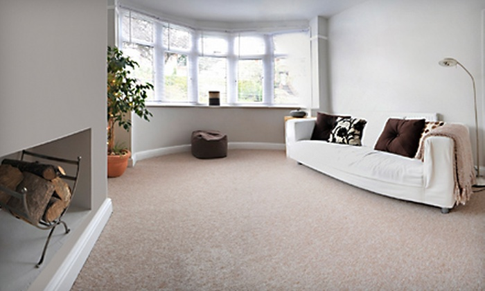On Time Carpet Service - Tucson: Carpet Cleaning for Three Rooms and a Hallway or Five Rooms and a Hallway from On Time Carpet Service (Up to Half Off)