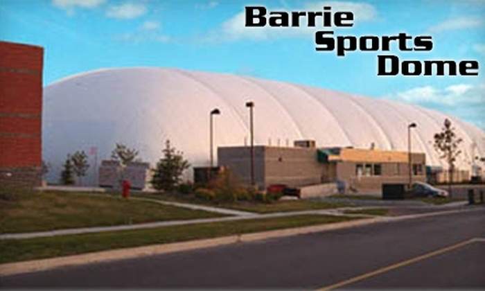 Barrie Sports Dome - East Bayfield: $15 for Two Hours of Paintball Play and Equipment ($30 Value) or $12 for One Hour at the Driving Range ($24.40 Value) at Barrie Sports Dome