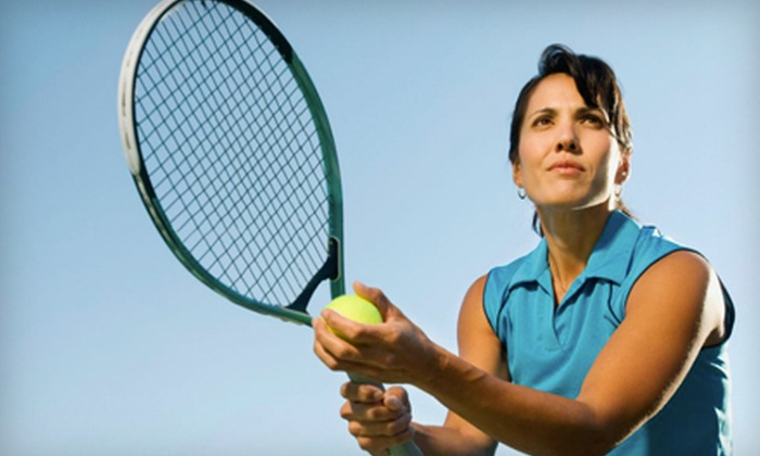 Koziol Tennis Lessons - Omaha: Tennis Racket Restringing with Optional Evaluation or a Three-Lesson Package from Koziol Tennis Lessons (Up to 60% Off)