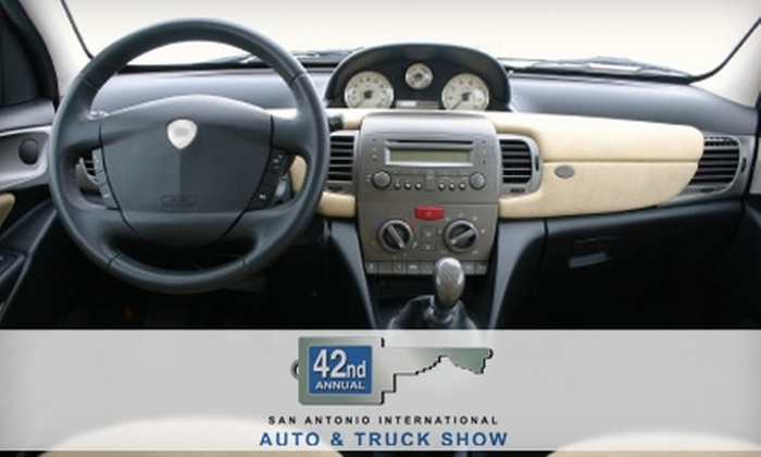 San Antonio Automobile Dealers Association - Downtown:  $7 for Two Tickets to the San Antonio Auto & Truck Show ($16 Value)