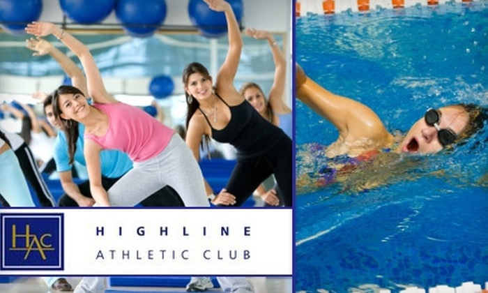 Highline Athletic Club - Burien: $30 for a 10-Class Pass at Highline Athletic Club in Burien