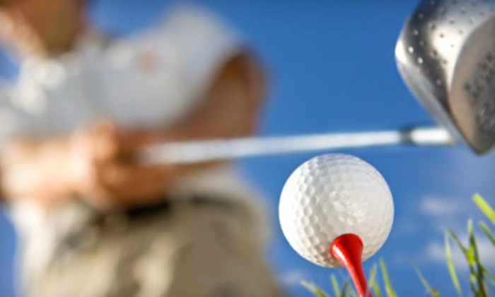 CompuGolf Center - Multiple Locations: Golf Package at CompuGolf Center in Carrollton (Up to 79% Off). Three Options Available.