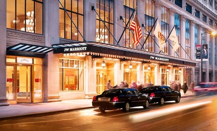 1-Night Stay for Up to Four - Valeo Spa in the JW Marriott in Chicago