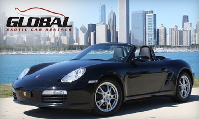 Global Exotic Car Rental Of Chicago In Chicago Illinois Groupon