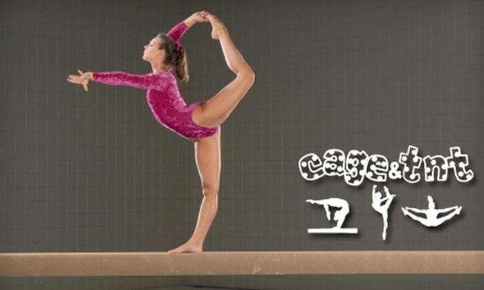 Cage Gymnastics - Topeka: $50 for Kids' Gymnastics Classes at Cage Gymnastics ($105 Value)