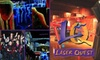 Laser Quest - Lincoln: $16 for Four Games of Laser Tag at Laser Quest ($32 Value)