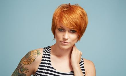 $59 for Haircut, Deep Conditioning, and Color from Kimberly Jeane at Indulge Med Spa ($155 Value)